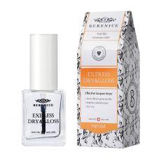 Berenice Express Dry&Gloss Экспресс-покрытие 2 в 1 Сушка+блеск, фото