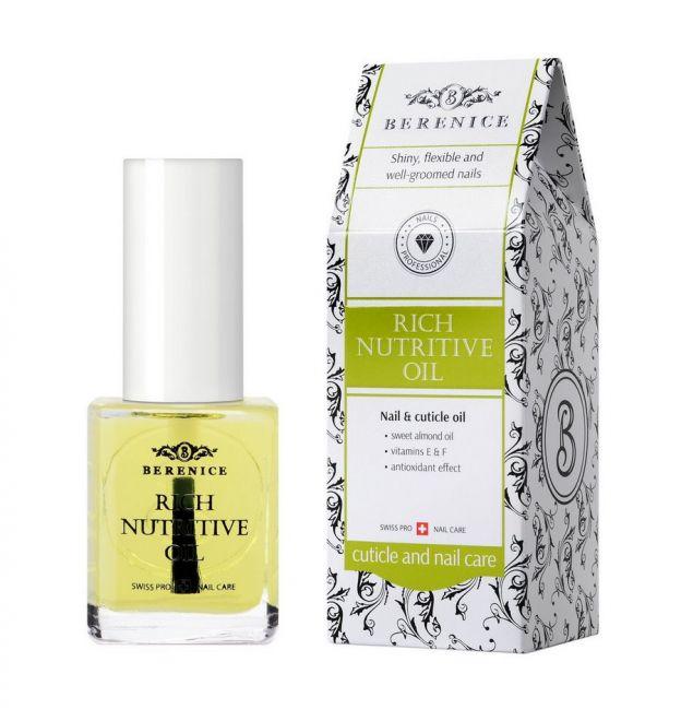 Berenice Rich Nutritive Oil Масло для ногтей и кутикулы питающее и увлажняющее, фото