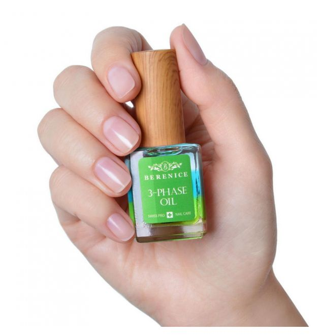 Berenice 3-Phase Oil Трёхфазное масло для ногтей и кутикулы, фото